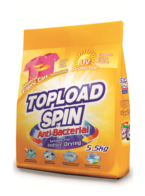 Topload Spin Laundry Powder Detergent (Anti-Bacterial)