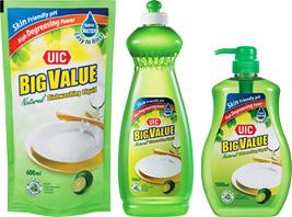 Uic Natural Dishwashing Liquid Universal Integrated