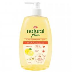 UIC Natural Plus Ultra Dishwashing Liquid (99.9% Anti-Bacterial)